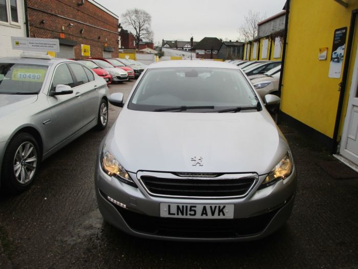 Peugeot 308 1.2 PureTech 130 Active 5dr EAT6 Sat Nav Bluetooth Only £30 Road Tax FSH Estate Petrol Silver