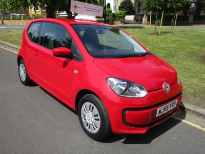 Volkswagen Up 1.0 Move Up 3dr £20 Road TAX Hatchback Petrol Metallic RedVolkswagen Up 1.0 Move Up 3dr £20 Road TAX Hatchback Petrol Metallic Red at Mex Cars Isleworth