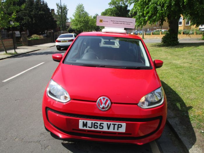 Volkswagen Up 1.0 Move Up 3dr £20 Road TAX Hatchback Petrol Metallic Red