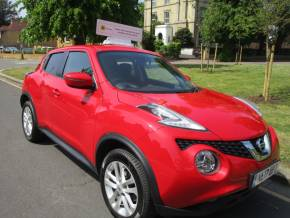 Nissan Juke 1.5 dCi Acenta 5dr Ulez Compliant £20 Road TAX Hatchback Diesel Metallic Red at Mex Cars Isleworth
