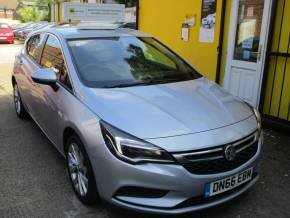 Vauxhall Astra 1.6 CDTi 16V ecoFLEX Design 5dr Ulez Compliant £0 Road TAX Hatchback Diesel Metallic Silver at Mex Cars Isleworth