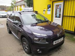 Citroen C4 Cactus 1.2 PureTech [82] Feel 5dr £20 Road TAX Bluetooth Alloys Hatchback Petrol Metallic Mauve/purple at Mex Cars Isleworth