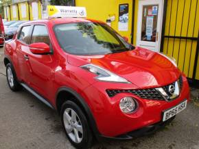 Nissan Juke 1.6 [94] Visia 5dr  Alloys Full Service History Hatchback Petrol Metallic Red at Mex Cars Isleworth