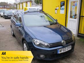 Volkswagen Golf 1.6 TDI 105 SE 5dr DSG Automatic Very Low Mileage With Full  Service History Estate Diesel Metallic Blue at Mex Cars Isleworth