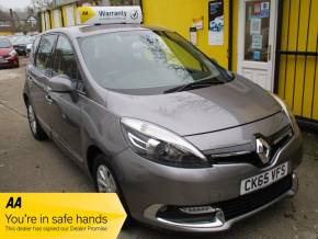 Renault Scenic 1.5 dCi Dynamique TomTom Energy 5dr [Start Stop] MPV Diesel Grey at Mex Cars Isleworth