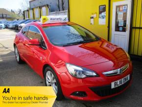 "Vauxhall Gtc 1.4T 16V 140 SRi 3dr Bluetooth 18"" Alloys FSH Hatchback Petrol Metallic Red at Mex Cars Isleworth"