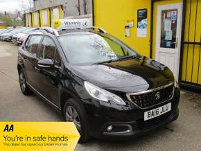 Peugeot 2008 1.2 PureTech Active 5dr New Shape Crossover Petrol Metallic Black at Mex Cars Isleworth