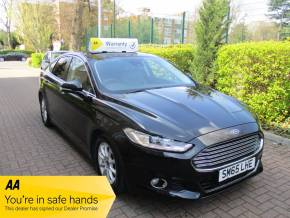 Ford Mondeo 1.6 TDCi ECOnetic Titanium 5dr Ulez Compliant Satnav Bluetooth Hatchback Diesel Metallic Black at Mex Cars Isleworth