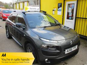 Citroen C4 Cactus 1.2 PureTech [110] Feel 5dr Bluetooth Alloys Hatchback Petrol Metallic Grey at Mex Cars Isleworth