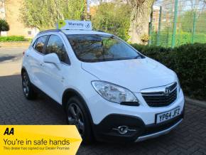 Vauxhall Mokka 1.7 CDTi SE 5dr Leather Upholstery Bluetooth Alloys Hatchback Diesel Pearl White at Mex Cars Isleworth