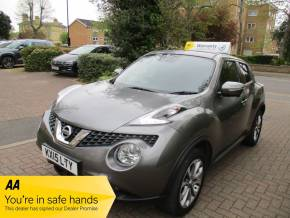 Nissan Juke 1.2 DiG-T Tekna 5dr SatNav Leather Bluetooth Hatchback Petrol Grey at Mex Cars Isleworth