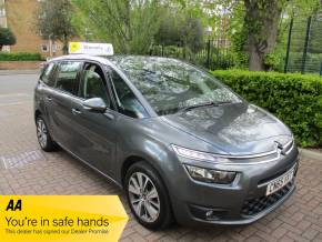 Citroen Grand C4 Picasso 1.6 BlueHDi Selection 5dr 7 Seats FSH 1 Owner Panoramic Roof MPV Diesel Metallic Grey at Mex Cars Isleworth