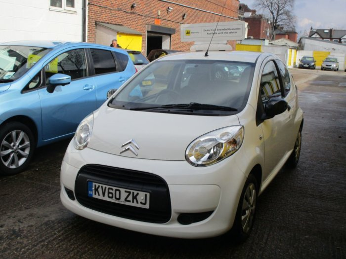 Citroen C1 1.0i Splash 3dr LOw Insurance £20 tax A Year Hatchback Petrol Pearl White