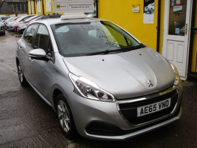 Peugeot 208 1.2 PureTech 82 Active 5dr Bluetooth Reverse Camera Hatchback Petrol Metallic SilverPeugeot 208 1.2 PureTech 82 Active 5dr Bluetooth Reverse Camera Hatchback Petrol Metallic Silver at Mex Cars Isleworth