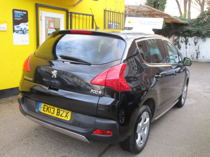 Peugeot 3008 1.6 HDi Style 5dr One Owner Bluetooth Full Service History Hatchback Diesel Metallic Black