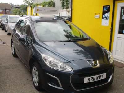 Peugeot 308 1.6 HDi 92 Access 5dr Full Service History Estate Diesel Metallic BluePeugeot 308 1.6 HDi 92 Access 5dr Full Service History Estate Diesel Metallic Blue at Mex Cars Isleworth
